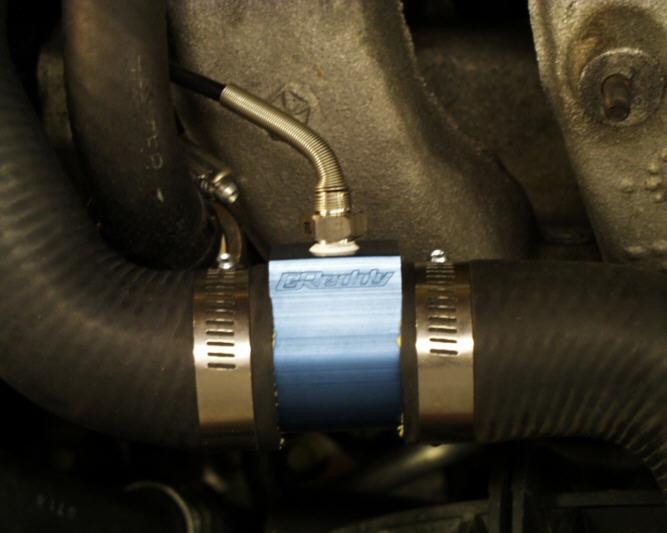Subaru aftermarket water temp sensor location
