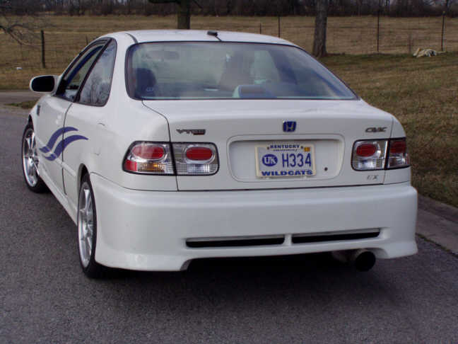 Street Sports Project Cars-2000 Honda Civic EX CTR