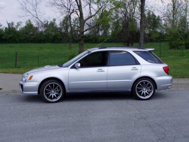 Street Sports Project Cars 2003 Subaru Wrx Wagon