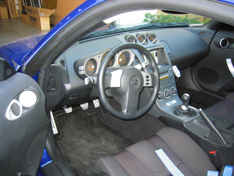Street Sports-GReddy for Nissan 350Z