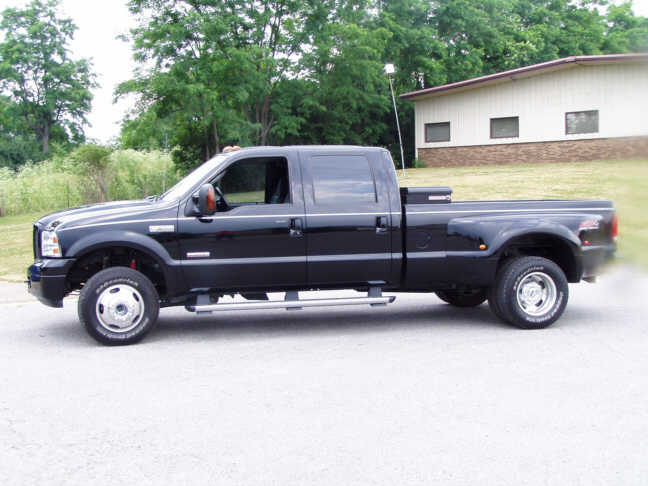 Street Sports Project Cars-2005 Ford F350 crew cab dually ...