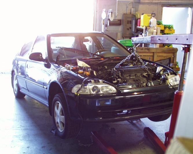 1995 honda civic ex engine