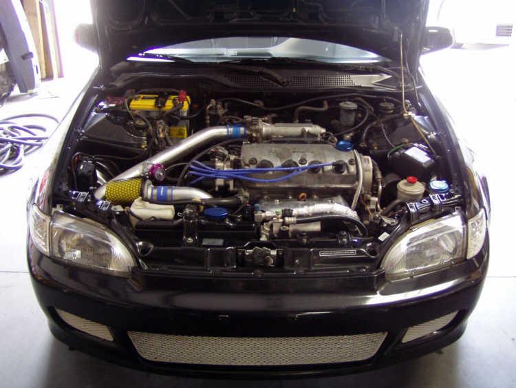 Honda Civic 1994 Turbo >> Street Sports Project Cars-1994 Honda Civic EX turbo