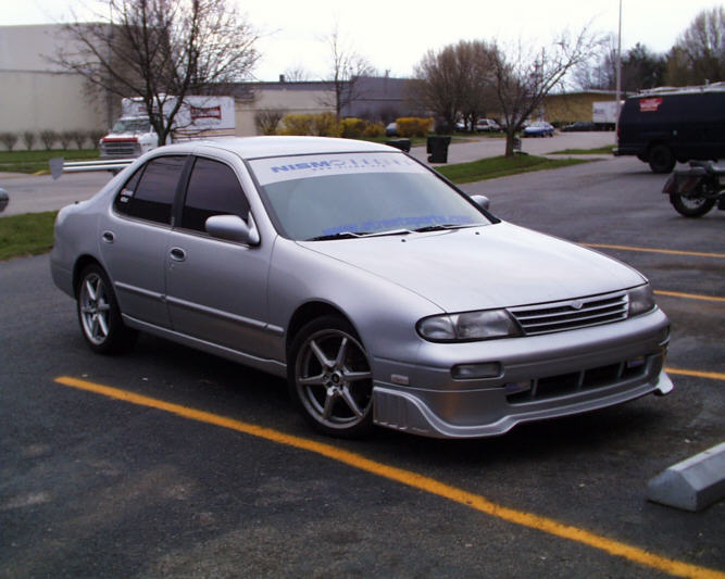 Street Sports Project Cars 1995 Nissan Altima Gxe