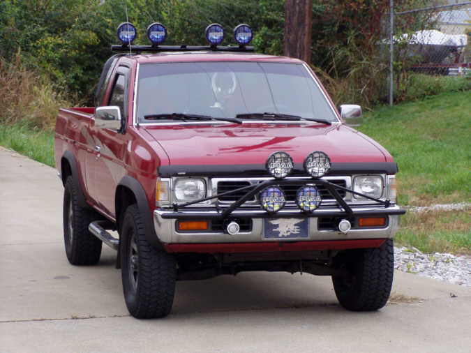 Street Sports Project Cars 1993 Nissan Hardbody Pickup