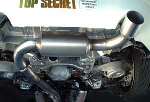 Street Sports-Top Secret for Nissan 350Z